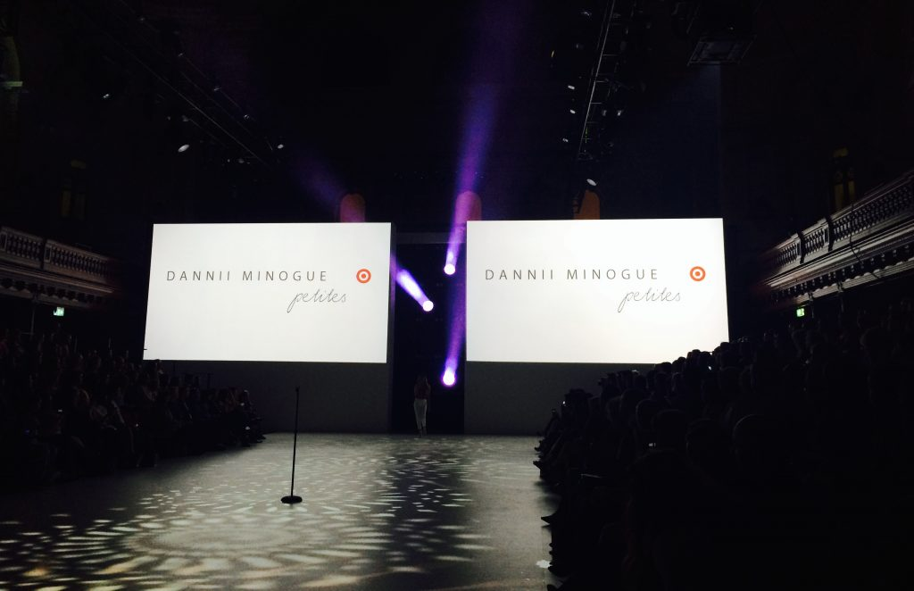 Dannii Minogue Petites For Target @ Mercedes Benz Fashion Festival