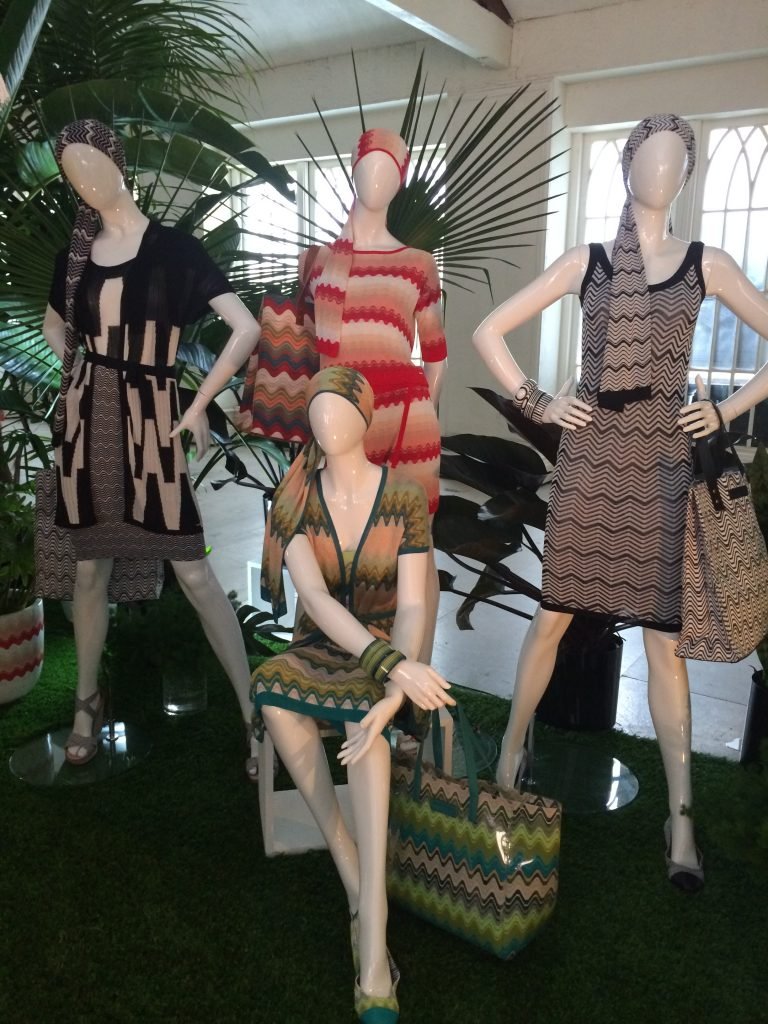 Inside the Missoni for Target showroom